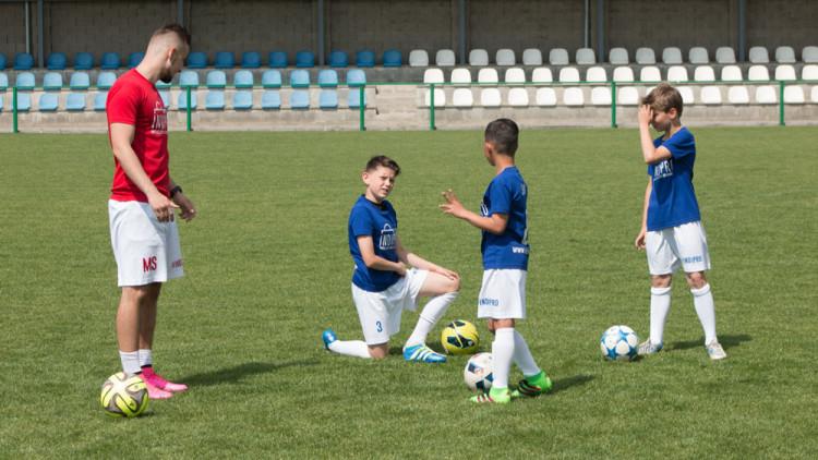 Video z fotbalových tréninků